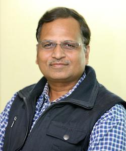Satyender Jain (Minister of Health, Power, PWD & Industries)
