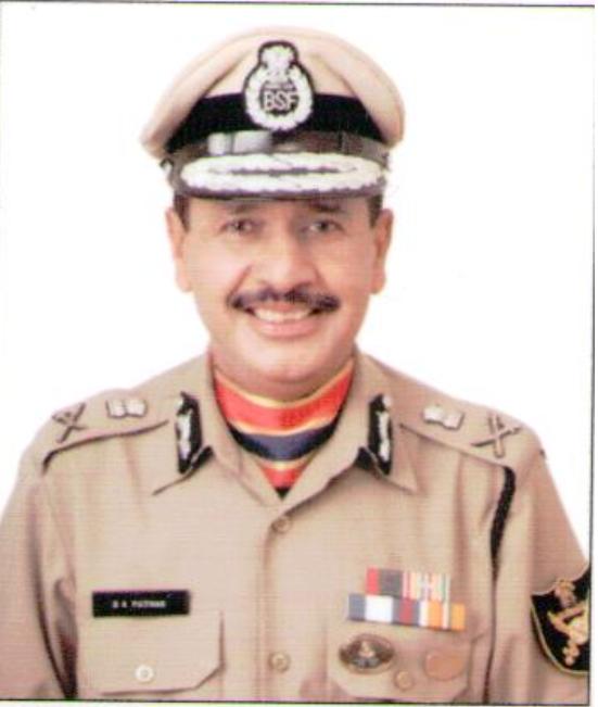D K Pathak (IPS, DG - BSF)