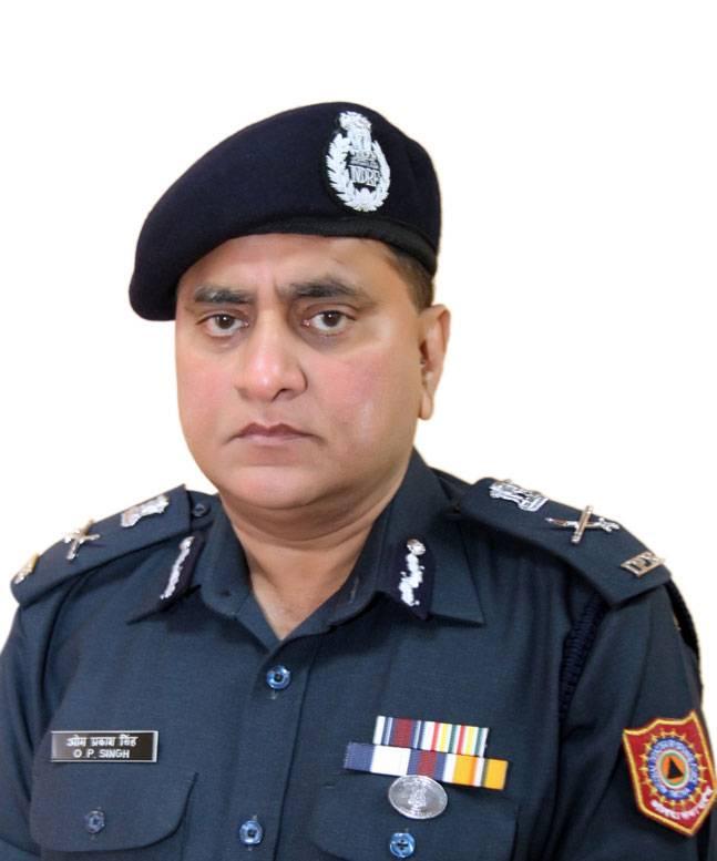 OP Singh (DG - NDRF)